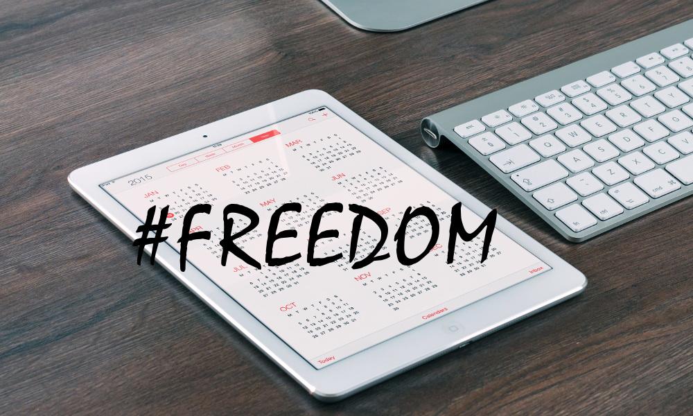 #freedom calendar ipad